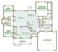 Ranch Style House Plans With Basement by 106 Best Ranch House Plans Images On Pinterest House Floor Plans
