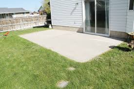 Backyard Cement Patio Ideas by Sets Superb Patio Heater Backyard Patio Ideas In How To Stain A