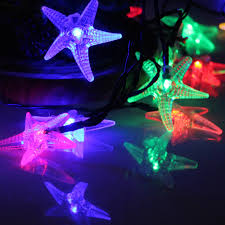 Blue Led String Lights by Online Get Cheap Starfish String Lights Aliexpress Com Alibaba