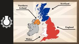 Map Of Ireland And England The Difference Between The United Kingdom Great Britain And