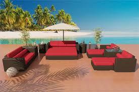 Wicker Outdoor Furniture Sets by Wicker Sofa U0026 Dining Set Patio Furniture Set 7j