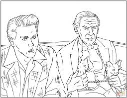 ed wood scene coloring page free printable coloring pages