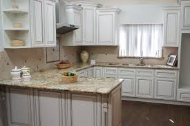 Kitchen Cabinets White Shaker Fabulous Antique White Shaker Kitchen Cabinets With Pre Assembled