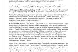 Nursing Resume Objective  free sample resume format  resume     Acute Care Nursing Resume Example