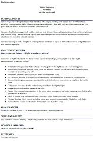 Flight Attendant Job Description Resume by Flight Attendant Cv Example Icover Org Uk