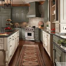 Kitchen Cabinets Mobile Al Painted Cabinets In Neutral Colors U2013 Sage With Cocoa Glaze And