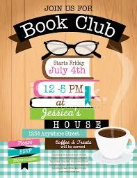 Free E Card Invitations Printable Custom Colorful Invitation E Card Design For Book Club
