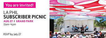 Grand Park Los Angeles Map by Subscriber Picnic 2017 La Phil