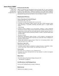 Analyst Resume Example Dvr Sample Resume