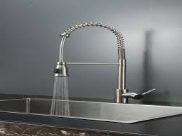 decor brushed nickel kitchen faucets menards with soap dispenser