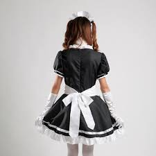 anime costumes for halloween amazon com coconeen anime cosplay costume french maid