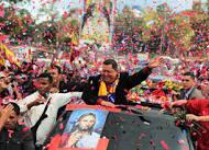 Despedida a Chávez