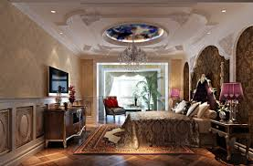decorations elegant bedroom ceiling idea with smart lighting