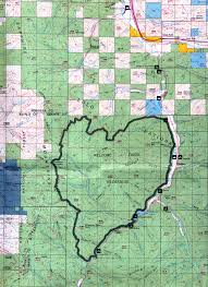 Colorado Unit Map by Buy And Find Montana Maps Bureau Of Land Management Statewide Index