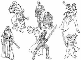 star wars printable coloring pages free printable star wars