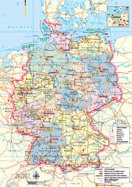 Detailed Map Of Germany by Geography Blog Landkarte Deutschland