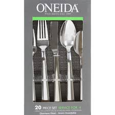 robinson home products oneida madison 20 piece flatware set