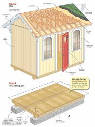 Free Saltbox Wood Shed Plans by 25 Free Garden Shed Plans