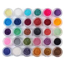 30 colors in 1 set makeup loose powder glitter eyeshadow bling