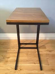 Ikea Dining Table Hacks Vittsjo Laptop Table To Upscale Side Table Ikea Hackers Ikea