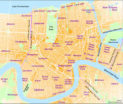 Ninth Ward New Orleans Map by Home Media Nola