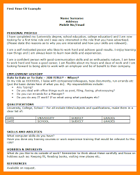 Student Resume Examples First Job by 9 Cv Sample For First Job Sales Clerked