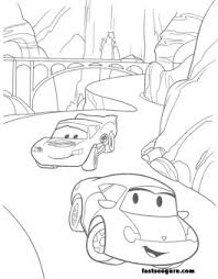 cars sally mc queen printable coloring pages printable coloring