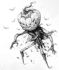 inktober 1 31 spirit halloween ink 8x10 art
