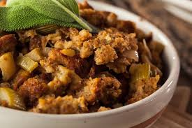 Stuffed Thanksgiving Turkey Farmhouse Herbed Stuffing Recipe Epicurious Com