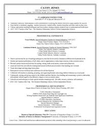 physical therapist assistant resume examples sample resume for special education teacher sample resume and sample resume for special education teacher objectives on resume for teachers best ideas about career objectives