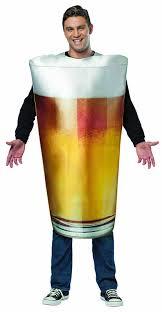 Mens Halloween Costumes Amazon Amazon Rasta Imposta Beer Pint Costume Gold Size Clothing
