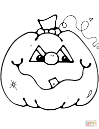 cute halloween coloring pages printable jack o u0027 lantern coloring page free printable coloring pages