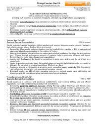 Customer Service Representative Resume Example Customer Service Representative Resume