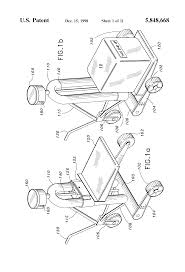 patent us5848668 portable lifting system for easy movement of