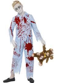 Halloween Costume Boy Kids Zombie Pyjama Boy Costume Escapade Uk