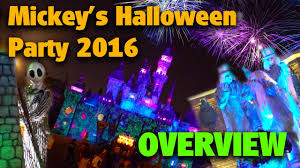 mickey u0027s halloween party 2016 disneyland youtube