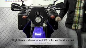 trailtech x2 dot headlight on a suzuki drz400s youtube