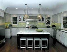 Green Tile Backsplash by Green Subway Tile Backsplash In White Kitchen Eco Friendly 62