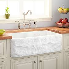 Rectangle Marble Sink Signature Hardware - Marble kitchen sinks
