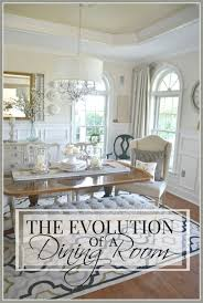 Dining Room Makeovers by The Evolution Of A Dining Room Stonegable