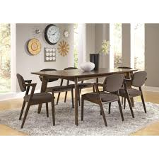 Mid Century Modern Dining Room Tables Mid Century Modern Dining Side Chair Pack Of Two