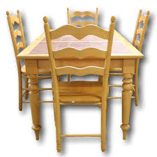 walter of wabash maple dining table w 4 chairs upscale consignment walter of wabash br maple dining table w