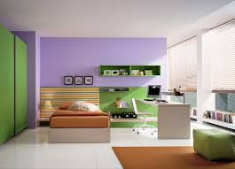 foxy image of colorful kid bedroom decoration using mounted wall