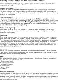 Research Analyst Sample Resume by Our Outstanding Marketing Research Resume Examples Essaymafia Com
