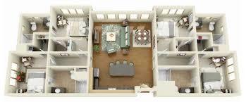 Servant Quarters Floor Plans 4 Bedroom Apartment House Plans