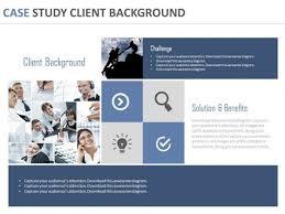 business case presentation template    editable powerpoint slides