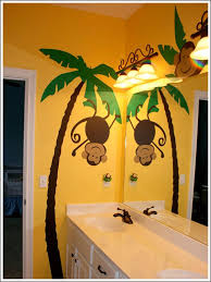 Paint For Bathroom Walls Best 25 Monkey Bathroom Ideas On Pinterest Kids Bathroom