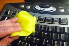 limpiando teclado