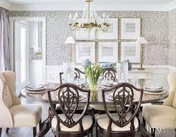 Elegant Dining Room Furniture by Best 25 Dining Room Wallpaper Ideas On Pinterest Room Wallpaper