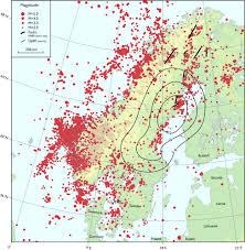 Time Change Map Stress Change Over Short Geological Time The Case Of Scandinavia